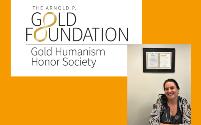 Gold Humanism Honor Society Inducts Dr. Miriam Rahav